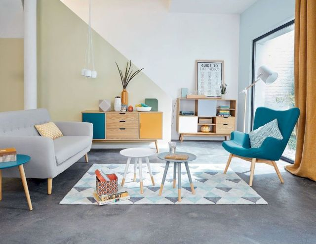 Brilliant Home Decor Ideas with Color Pop Ups That Enliven Interior Vibes Part 32