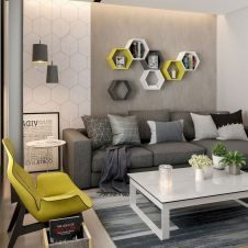 Color Pop Up Ideas for Neutral Colored Home Interior Part 13