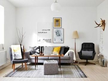 Color Pop Up Ideas for Neutral Colored Home Interior Part 7