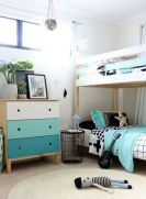 Cool bunk beds design ideas for boys that wonderful as solution for making the most out of a shared space Part 14