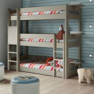 Cool bunk beds design ideas for boys that wonderful as solution for making the most out of a shared space Part 22
