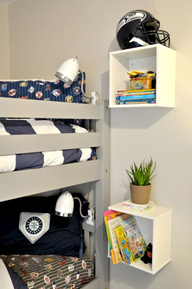 Cool bunk beds design ideas for boys that wonderful as solution for making the most out of a shared space Part 5