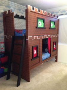Cool bunk beds design ideas for boys that wonderful as solution for making the most out of a shared space Part 6