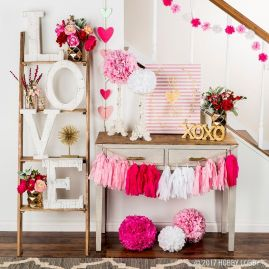 DIY home decoration you can make to celebrate the Valentine with your partner Part 5