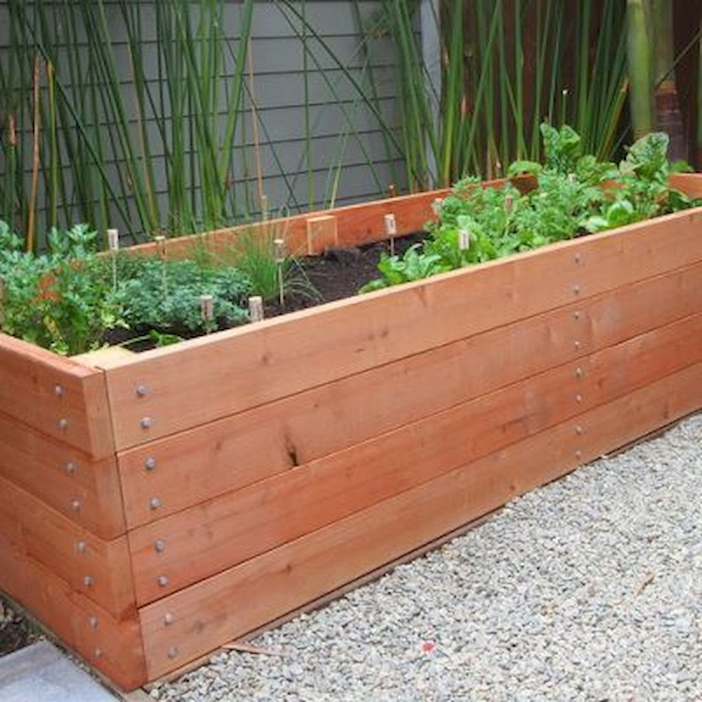DIY planter boxes made from reclaimed woods and pallets excellent for outdoor and indoor decoration Part 12