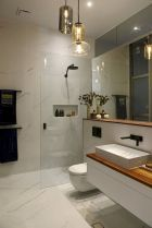 Effective bathroom organization with easy open shelving ideas Part 8