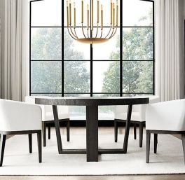Exotic Wooden Table Designs for Modern Traditional Dining Room Part 7