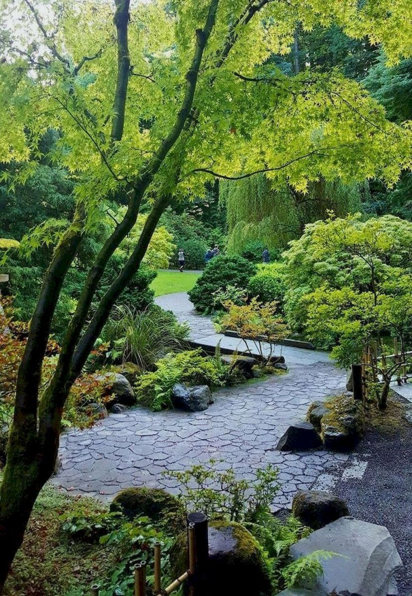 Exotic traditional style of graveled garden walkways that add more natural vibes in your garden designs Part 17