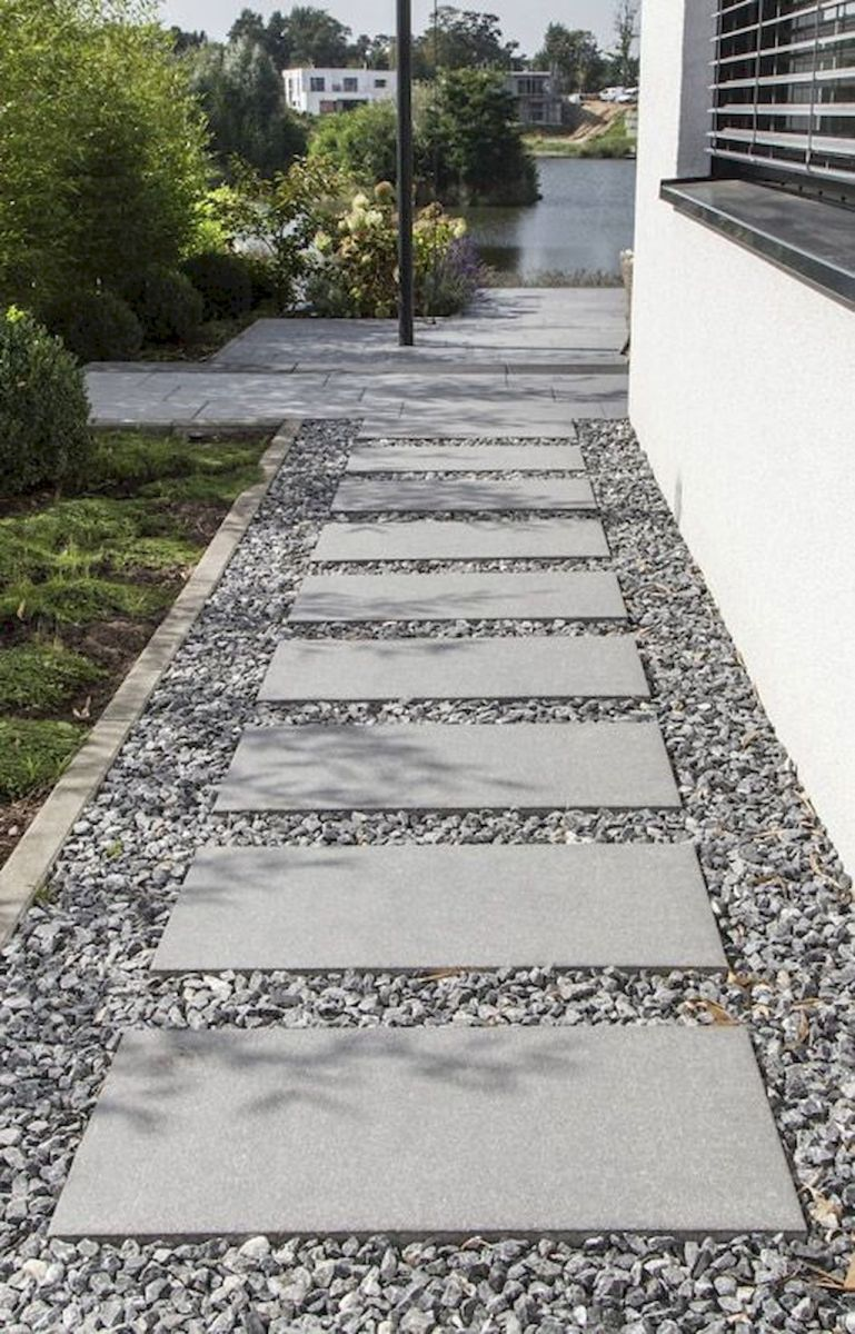 Exotic traditional style of graveled garden walkways that add more natural vibes in your garden designs Part 21