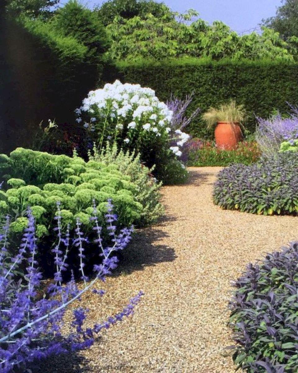 Graveled garden walkways that give more exotic natural finishing in your garden designs Part 4
