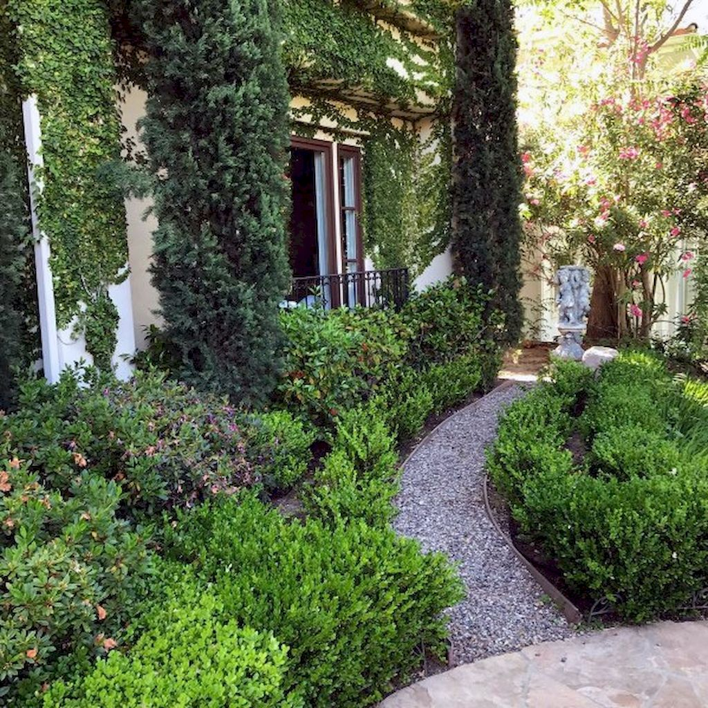 Graveled garden walkways that give more exotic natural finishing in your garden designs Part 9