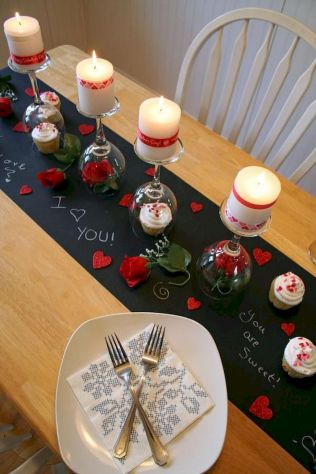 How to make a Valentine surprise for your partner with lovely home decoration Part 18
