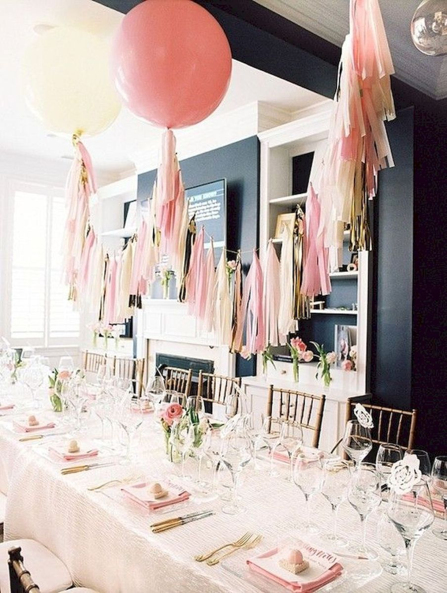 Lovely Table Decoration for Valentine Wedding Theme Part 26