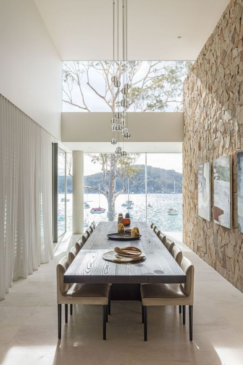 Modern Coastal Home Designs with Traditional Dining Room Twist Part 5