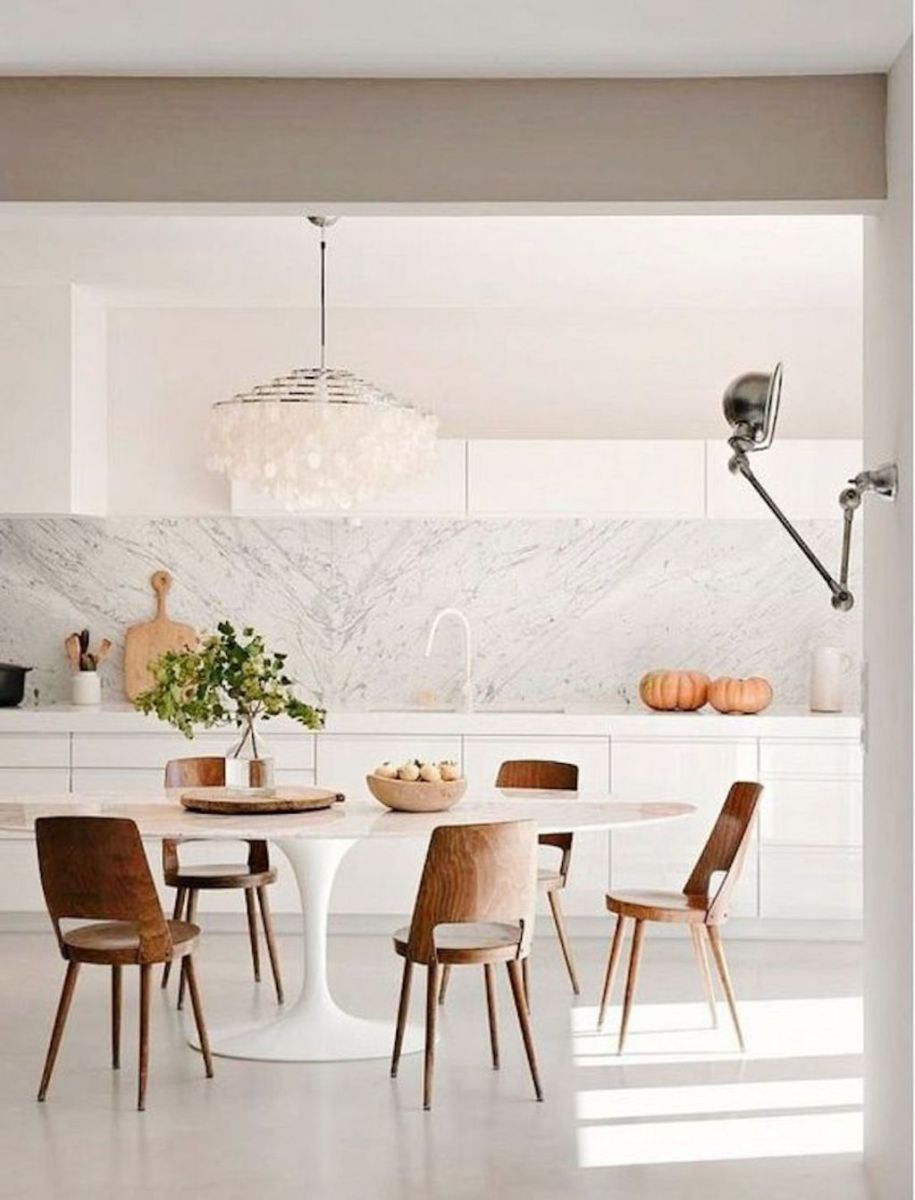 Modern Coastal Home Designs with Traditional Dining Room Twist Part 9