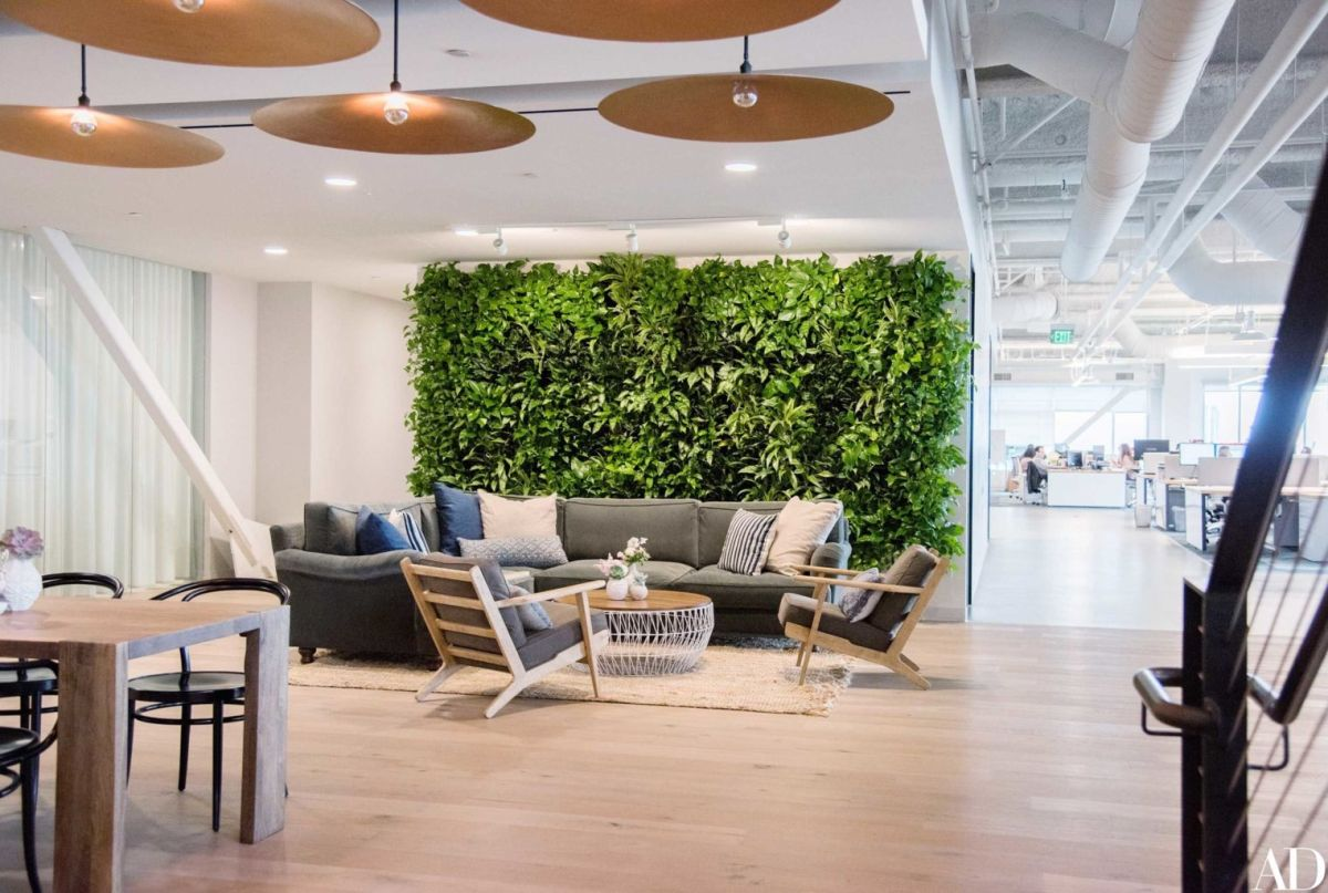 Modern Office Design with Healthy Natural Ideas That Increases Productivity Part 5