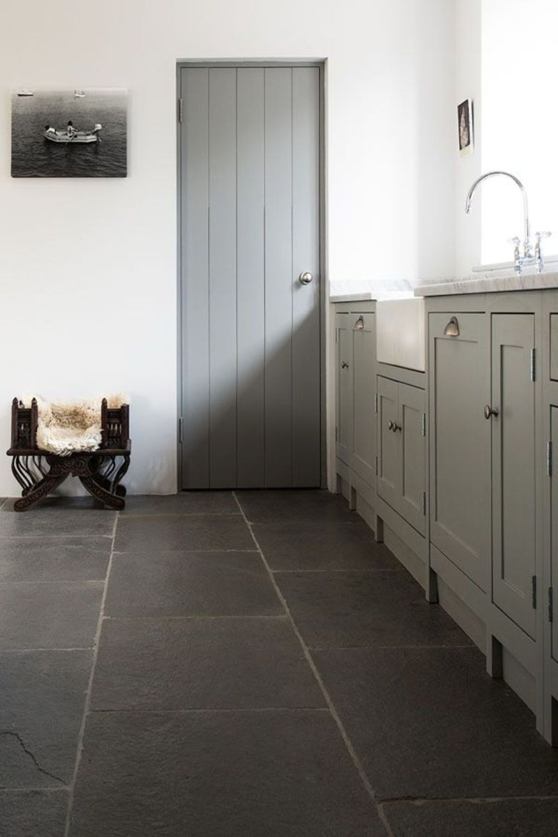 Natural Stone Floor Ideas that Looks Amazing in Traditional and Vintage Kitchen Styles Part 10