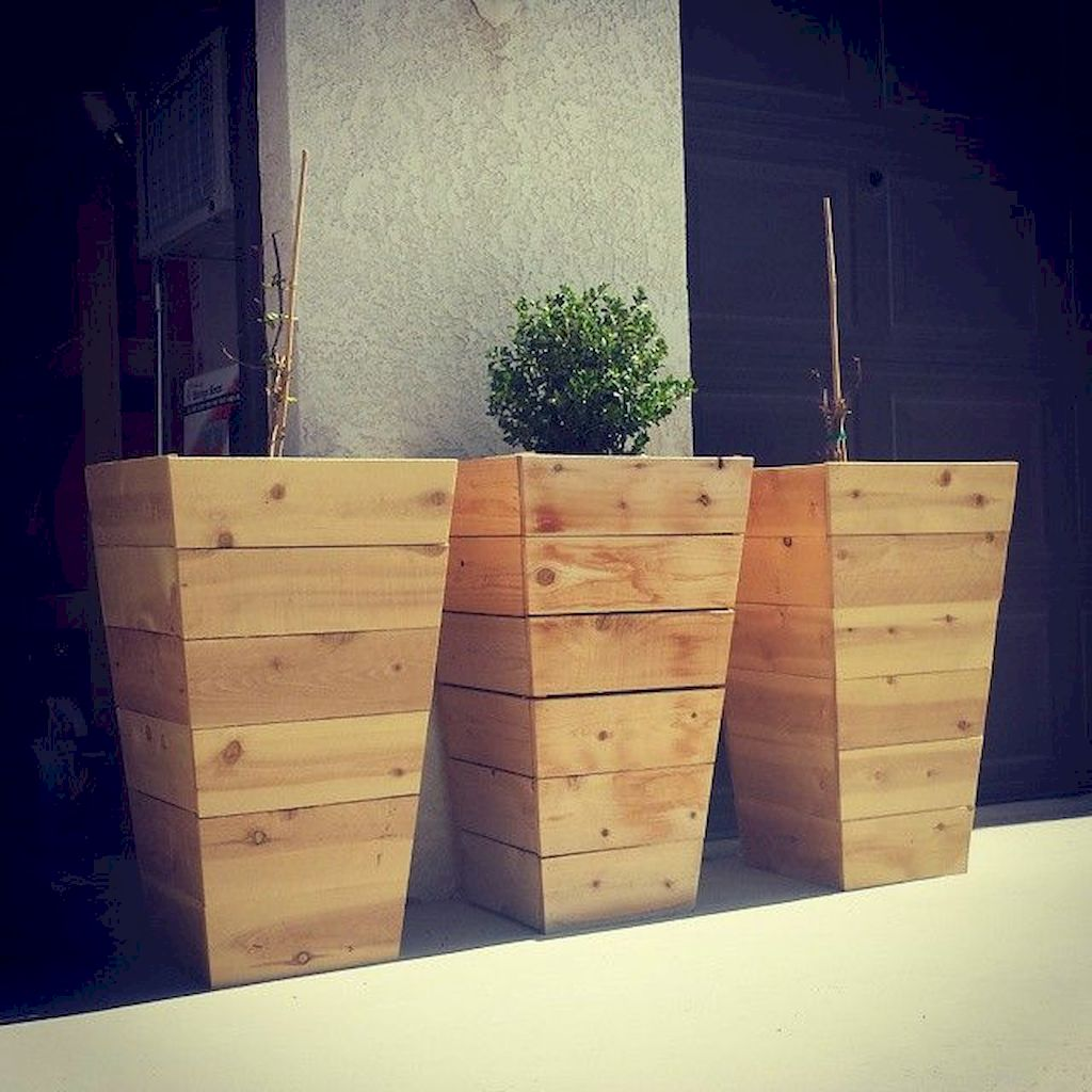 Planter box ideas made from pallets that look perfect with simple finishing Part 2