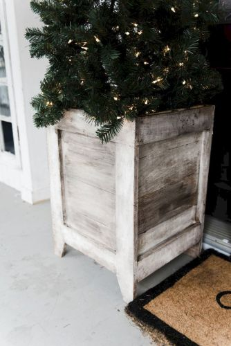 Planter box ideas made from pallets that look perfect with simple finishing Part 3