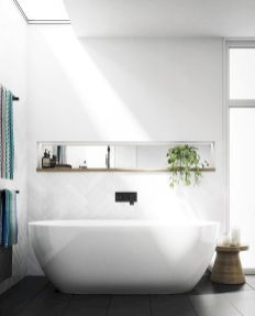 Small standing tubs powerful to make up small bathroom looks Part 22