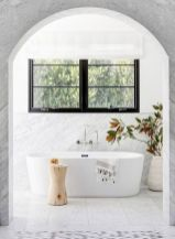 Small standing tubs powerful to make up small bathroom looks Part 23