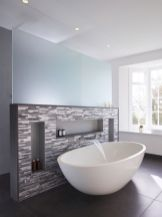 Small standing tubs powerful to make up small bathroom looks Part 26