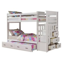 Wooden Storage Bunk Bed Frame Designs That Effective to give ashared space some efficient organizations Part 11