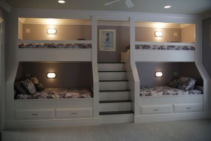 Wooden Storage Bunk Bed Frame Designs That Effective to give ashared space some efficient organizations Part 24