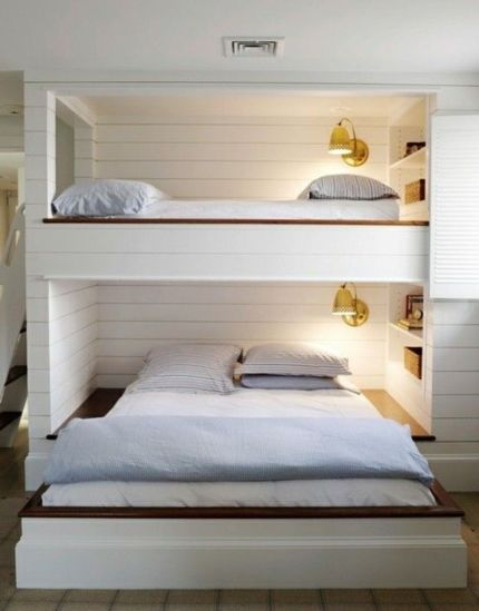 Wooden Storage Bunk Bed Frame Designs That Effective to give ashared space some efficient organizations Part 4