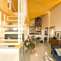 Amazing attic renovation in madrid MULTIPLYING ARCHITECTURES (III) Duplicated Renovation Idearch Studio (3)