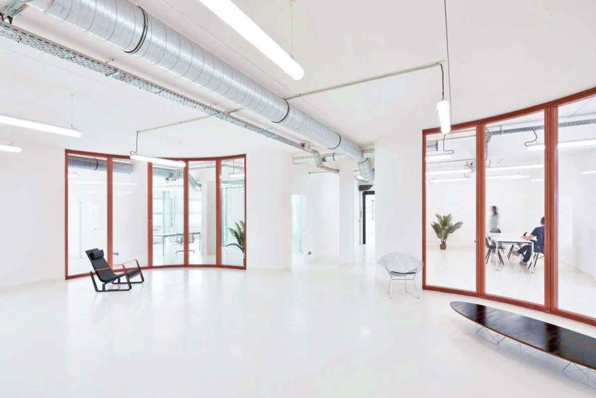 Amazing office design to combine knowledge and intuition giving Marine Serre workshops Paris a distinctive shape that looks classy