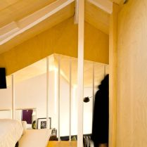 Utilizing limited space into cozy bedroom in attic ronovation in madrid MULTIPLYING ARCHITECTURES (III) Duplicated Renovation Idearch Studio (11)