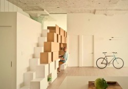 Creative wall mounted shelves shaped like geometric decoration – Doehler (2)