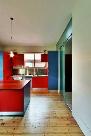 Drastic interior turnover of Ilma grove house designed in groovy colorful finishing which looks very refreshing and alive (2)