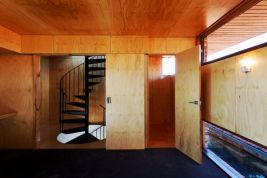 Heterogenous interior concept that adapts wooden surface in a colorful interior style to give charming vibe in the house (3)