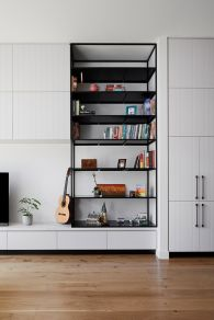 Australian terraced house renovation to give spacious indoor vibrancy in harmonious tones (4)