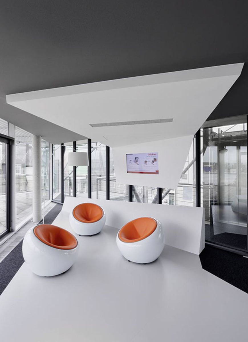 Fashionable modern office style with multiple design characters for different work zones (1)