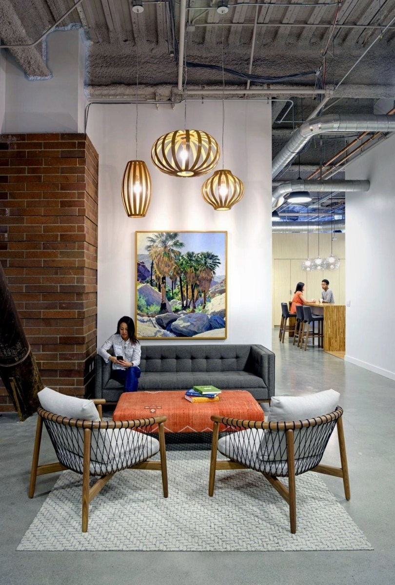 Industrial office design of Sunset Magazine set for productivity and style (2)