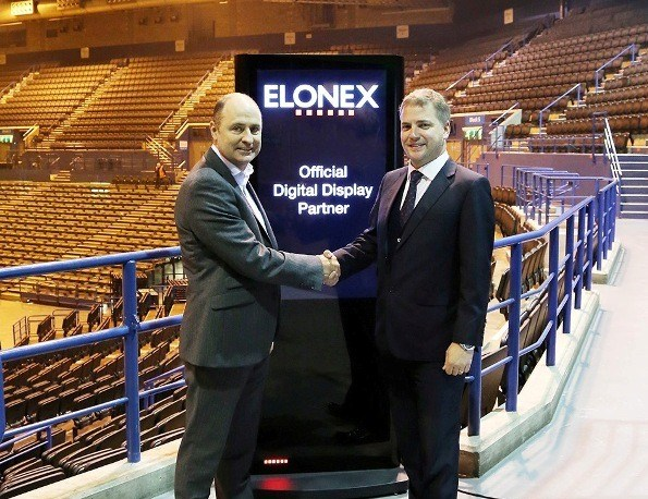 Elonex to become Official Digital Screen Partner of Barclaycard Arena