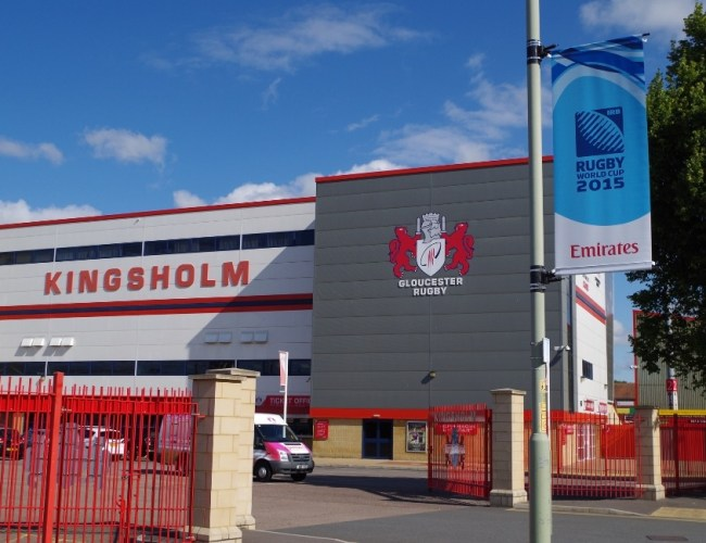 Elonex Build On Successful Relationship with Gloucester Rugby