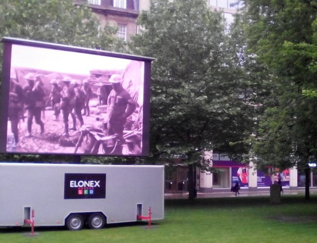 Somme 100 Commemoration Service to be Broadcast Live on Elonex Big Screen