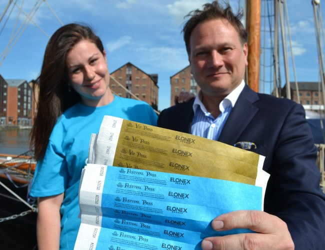 Elonex to Make a Splash at the Gloucester Tall Ships Festival