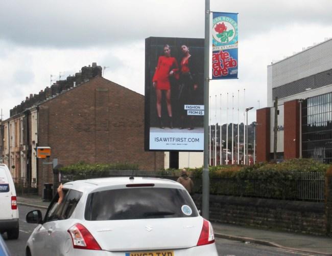 New Digital Billboard Goes Live at Blackburn Rovers