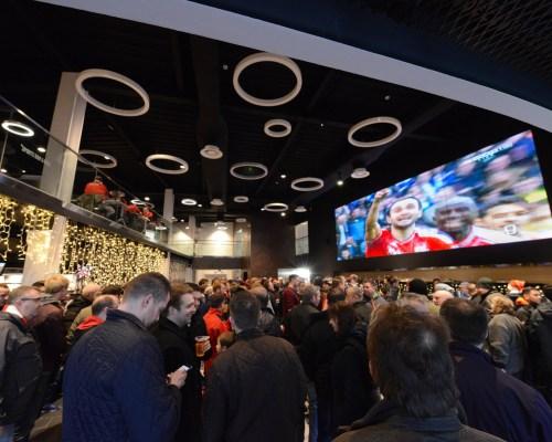 A general view of the Bristol Sports Bar and Grill  - Mandatory byline: Dougie Allward/JMP - 07966 386802 - 19/12/2015 - FOOTBALL - Ashton Gate - Bristol, England - Bristol City v QPR - Sky Bet Championship
