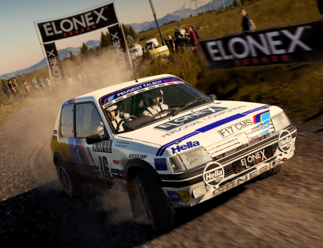 Elonex Revs Up for DiRT4