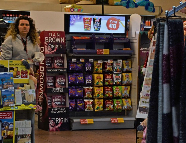 M56 Chester Services WHSmith landscape screen POS
