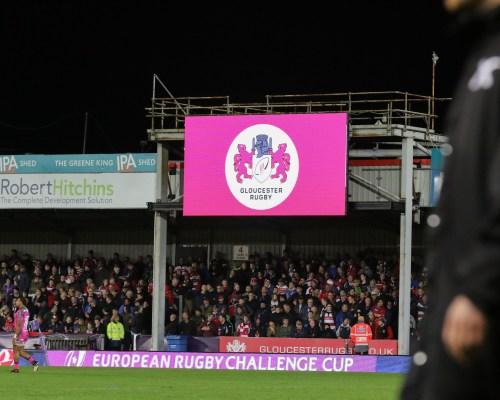 Gloucester Rugby v Agen from Kingsholm , Gloucester 12-10-17Pic by Martin Bennett