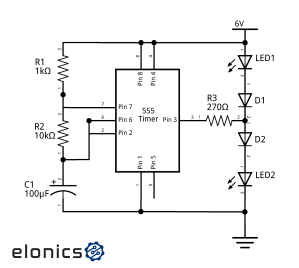 Circuit Diagram 555 Timer | Wiring Library