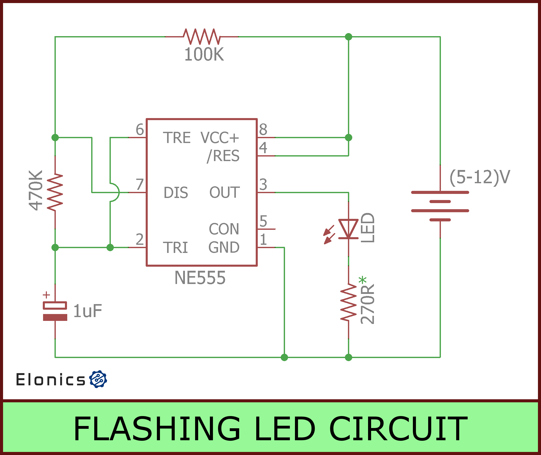 12v Strobe Light Circuit Schematic