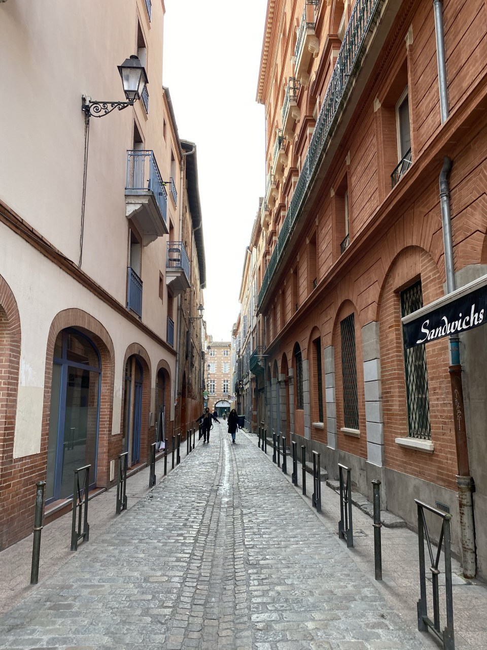 Back streets of Toulouse in Carmes